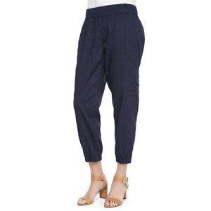 Eileen Fisher Cargo Linen Blend Jogger Pants